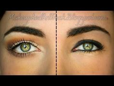 How To Make Your Eyes Appear Larger With Makeup - Do's & Don'ts (con subtitulos en español) - YouTube