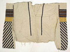 Romanian peasant blouse @ Mrtropolitan Museum of Art, New York Folk Costume, Costumes, Museum Collection, Peasant Blouse, Historical Costume, Art Object, Metropolitan Museum, Textile Art, Textiles