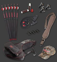 Parker Bows - RED HOT Perfect Storm Kit