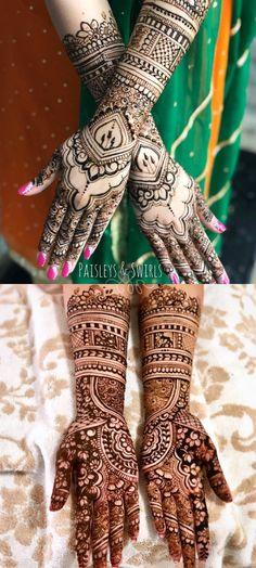 50 Henna Designs simple - easy bridal and party hand ideas - Craftionary . Modern Henna Designs, Beautiful Henna Designs, Simple Mehndi Designs, Bridal Mehndi Designs, Bridal Henna, Beautiful Patterns, Eid Crafts, Ramadan Crafts, Ramadan Decorations