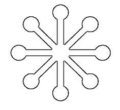 modern snowlake