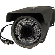 The IntelliSpy is a full HD weather proof bullet camera with 150 feet of night vision with the equivalent to a megapixel camera. The HD technol Dome Camera, Ip Camera, Security Camera System, Home Security Systems, Bnc Connector, Ceiling Installation, Bullet Camera, Home Protection, Hidden Camera