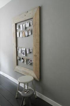 Mijn vergaarbak van leuke ideeën die ik wil toepassen in mijn huis. - voor in de keuken op muur, leuk voor alle knutsel werk kids