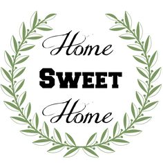 Our Southern Home | Home Sweet Home Sign {Tutorial} | http://www.oursouthernhomesc.com-  Free Print Template
