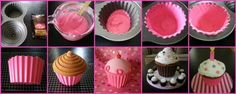 oh,sugar!: Candy Liner for Giant Cupcake