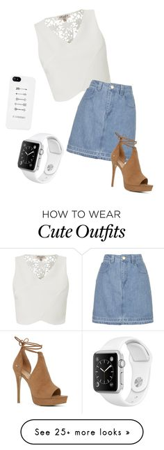 """An outfit from my 'suggested items'"" by ellieeaston1989 on Polyvore featuring Lipsy, Topshop and ALDO"