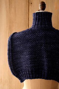 Laura's Loop: SweaterShawl - The Purl Bee - Knitting Crochet Sewing Embroidery Crafts Patterns and Ideas!