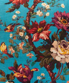 Liberty Art Fabrics Lady Kristina in Parasol Linen Cushion   Home   Liberty.co.uk