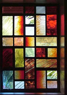 stained glass window shutters - Google Search