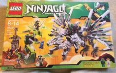 LEGO Ninjago Epic Dragon Battle (9450) 915 pcs New Sealed With Box Damage #LEGO