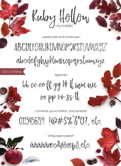 a dry brush font Ruby Hollow - a playful dry brush font. It has tons of brush stroke texture, so you can achieve a hand written look with ease! It's got a bouncy baseline, and slim lines. Ruby Hollow - a playful dry brush font. It has tons of brush . Improve Handwriting, Handwriting Analysis, Hand Lettering Alphabet, Cricut Fonts, Brush Font, Calligraphy Fonts, Dry Brushing, Tattoo Fonts, White Art