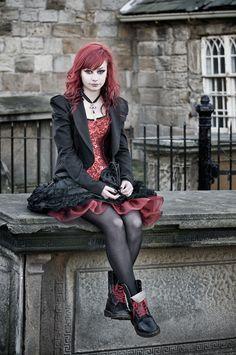 #Goth girl M by Bart Hoga,