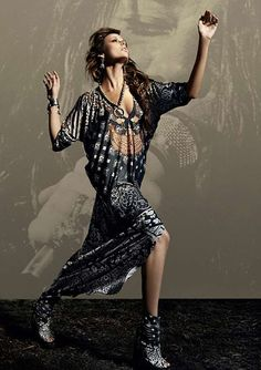 Boho Rocker Fashion : Camilla AW11 Woodstock