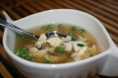 Egg Drop Soup With Chicken - 2 Ww Pts.. Photo by **Tinkerbell**
