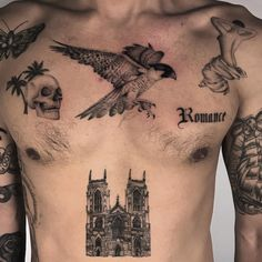 incredible chest tattoo design Chest Tattoo, Tattoo Designs, Arms, Skull, Butterfly, The Incredibles, Bird Tattoos, Instagram, Arm