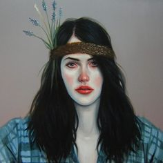 ⭐️ I love all of Kris Knight's beautifully-painted portraits! #krisknight #art #painting