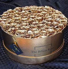 ***100 Gold Roses Pure Heaven Love love***