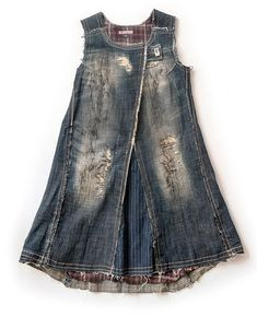 Your place to buy and sell all things handmade Work Aprons, Denim Crafts, Love Jeans, Altered Couture, Denim And Lace, Denim Flares, Denim Outfit, Textiles, Vintage Denim