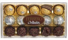 Ferrero's!!! Snack Recipes, Snacks, Ferrero Rocher, Easter Baskets, Foods, My Favorite Things, Amazing, Collection, Snack Mix Recipes