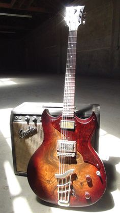 Echopark Guitars Custom Crow for Josh Homme