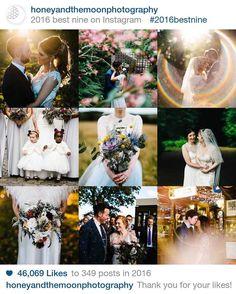 2016 you've been awesome!  #2016bestnine #weddingphotography #wedding #honeyandthemoonphotography