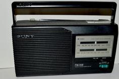 Jail House Sony FM Radio ICF--24  Middleton Jail Massachusetts  #Sony