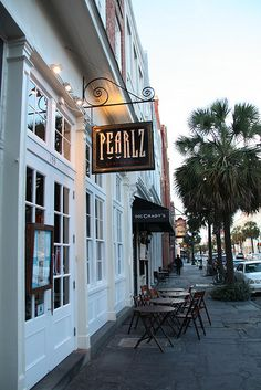 Pearlz Oyster Bar In Charleston, South Carolina Best Bloody Mary on the planet & fantastic fried oysters :) Russ and I went here for happy hour and stayed for dinner and  dessert. Favorite spot!