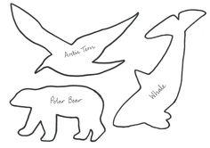 Arctic animal templates - polar bear, Arctic tern, whale Cub Scouts Bear, Girl Scouts, Soap Sculpture, Sculptures, Soap Carving Patterns, Native American Projects, Arctic Tern, Ivory Soap, Girl Scout Badges