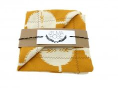 #Custom #Wedding  Pocket Square Handkerchiefs by Zelma Rose | Hatch.co