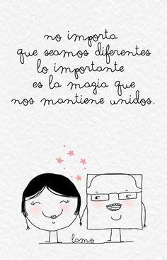 Lo mejor de la vida no se planea, sucede mágicamente! #frases #amor