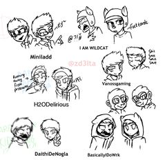 BBS| MiniLadd, IAmWildcat, H2ODelirious, Vanossgaming, DaithiDeNogla and BasicallyIDoWrk