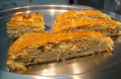 Aprenda a preparar torta de frango com farinha de arroz com esta excelente e fácil receita.  Pensando nas pessoas intolerantes ao glúten, no TudoReceitas.com...