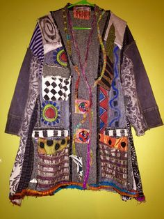 A personal favorite from my Etsy shop https://www.etsy.com/listing/250668925/woven-silk-tweed-upcycled-coat