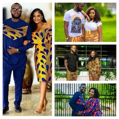 Checkout these Beautiful Ankara Couples Matching Outfit - Ankara collections brings the latest high street fashion online Matching Couple Outfits, Matching Couples, Ankara, Beaux Couples, Latest African Fashion Dresses, Fashion Online, Street Fashion, Street Style, Couture