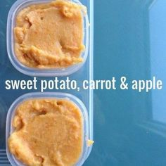 10 Homemade Baby Food Recipes | theglitterguide.com