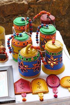 Arts And Crafts Storage, Diy Crafts For Home Decor, Diy Crafts For Gifts, Hobbies And Crafts, Clay Crafts, Thali Decoration Ideas, Diy Diwali Decorations, Handmade Decorations, Bottle Art
