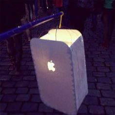 iPhone-Laterne basteln (Idee und Foto: Technikfaultier)