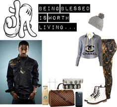 """""""Bored , But HAPPY NEW YEAR. =)"""" by trill-fashion ❤ liked on Polyvore"""
