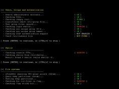 Analisis y hardening de RedHat II