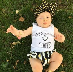 Stick To Yer Roots pirate/sailor inspired tank by Root Avenue