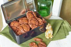 Brownie keksz gyorsan és egyszerűen recept | Street Kitchen Amazing Cakes, Biscotti, Fudge, Nutella, Cereal, Muffin, Food And Drink, Sweets, Snacks