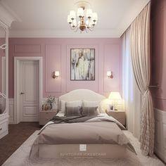 Interior Decorating, Decorating Ideas, Pink Room, Room Interior, Rooms, Interiors, Purple, Bed, Furniture