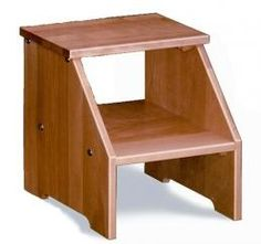Library Rolling Step Stool