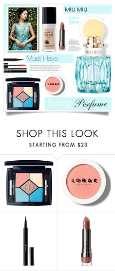 """Spring Perfume"" by tawnee-tnt ❤ liked on Polyvore featuring beauty, Christian Dior, LORAC, Guerlain, MAKE UP FOR EVER and springperfume"
