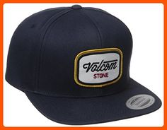 Volcom Men's Cresticle Snapback Hat, Airforce Blue, One Size - For all the skaters (*Amazon Partner-Link)