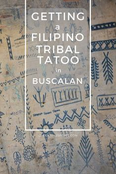 Getting a Filipino Tribal Tattoo in Buscalan – Buscalan is famous for being home to the legendary Whang-Od. Here's how to get a Filipino tribal tattoo from the Kalinga tribe in Buscalan, the Philippines. Tribal Tattoo Designs, Aztec Tribal Tattoos, Filipino Tribal Tattoos, Hawaiian Tribal Tattoos, Tribal Tattoos For Women, Tribal Sleeve Tattoos, Tattoos Skull, Tattoo Sleeve Designs, Star Tattoos