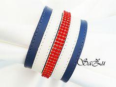 Tricolor custom bracelet