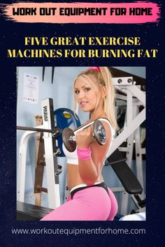 These exercise machines are related to cardiovascular and aerobic workouts.These machines are great for anyone looking to lose weight and improve their overall health. Home Workout Equipment, Aerobics Workout, Workout Machines, Fat Burning, At Home Workouts, Burns, Lose Weight, Exercise, Health