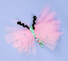 Kids Craft: Clothespin Butterfly