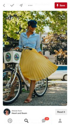 Summer outfit ideas yellow midi skirt outfits yellow pleated skirt outfit ideas datenight outfit ideas midi skirt outfits - captains cap outfits 5 ways to make the most of your weekend - Midi Skirt Outfit Casual, Yellow Skirt Outfits, Midi Rock Outfit, Yellow Pleated Skirt, Cute Skirt Outfits, Cap Outfits, Fashion Outfits, Yellow Skirts, Yellow Fashion